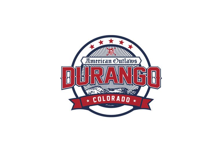 american outlaws durango chapter logo design