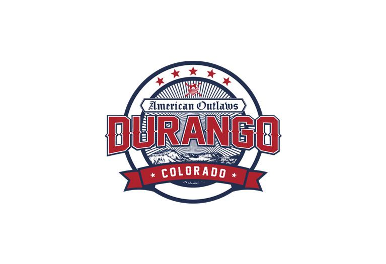 american outlaws durango chapter logo design