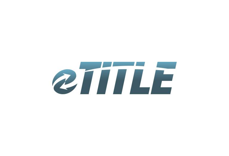 eTitle logo design