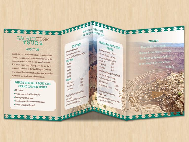 brochure inside design
