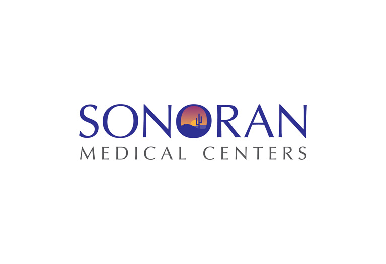 sonoran medical centers logo design