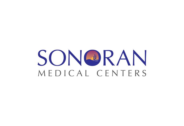 sonoran medical centers logo design